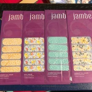 Lot of 4 Jamberry Full Sheets